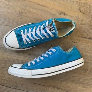 Converse Sneakers All Star Blue Low Tops M9 W11